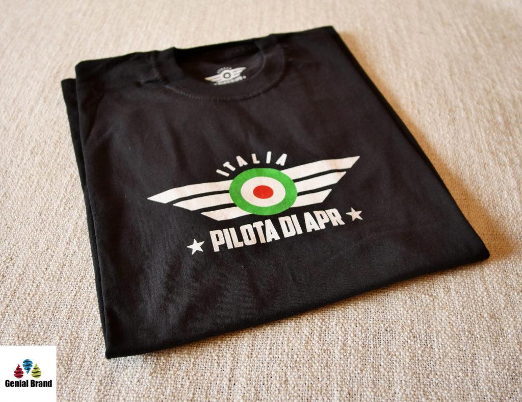 t-shirt drone nera