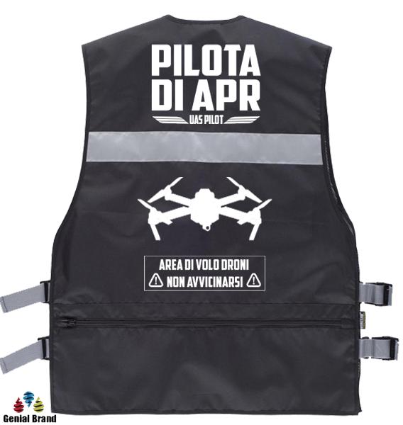 Gilet per il Pilota UAS - Pilota di APR